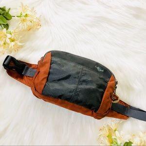 Orange & Gray Hiking durable Fanny pack